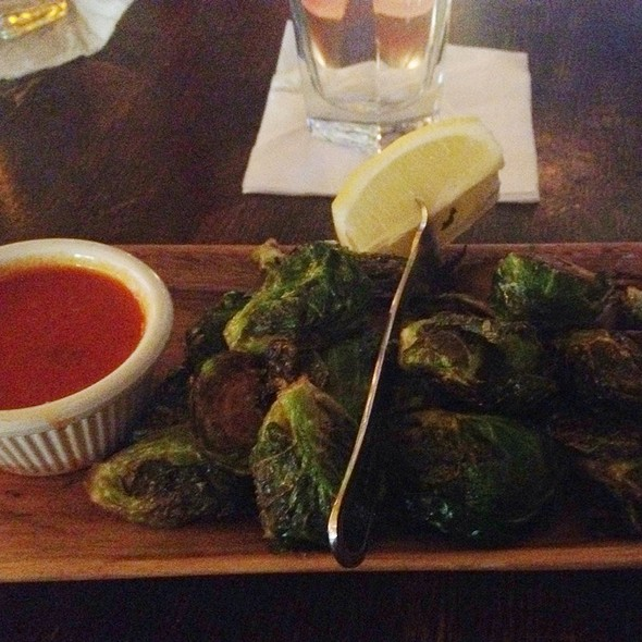 Fried Brussels Sprouts @ The Brazen Fox