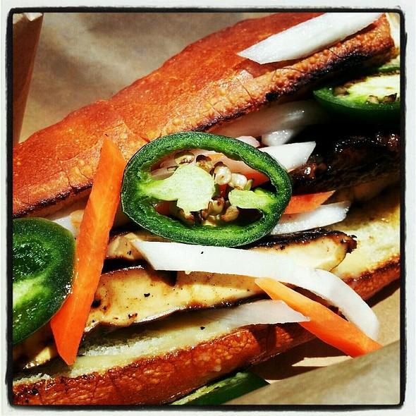 Portobello Banh Mi Sandwich @ MIHO Gastrotruck