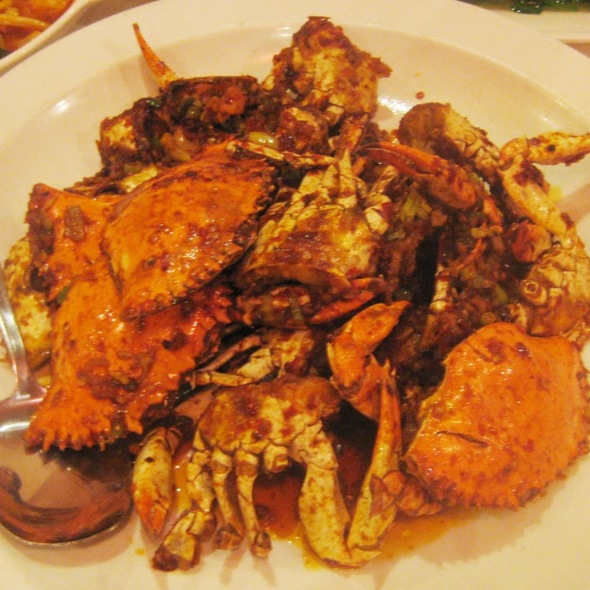 Hot chili chili blue crabs @ Szechuan Gourmet