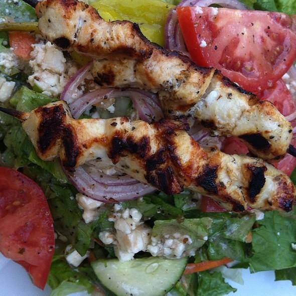 Aegean Salad @ Zorba's