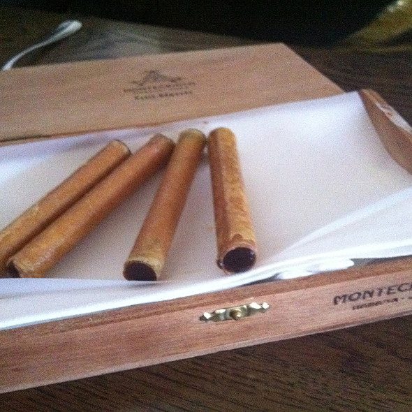 foie gras cigar @ Cutler & Co Dining Room & Bar