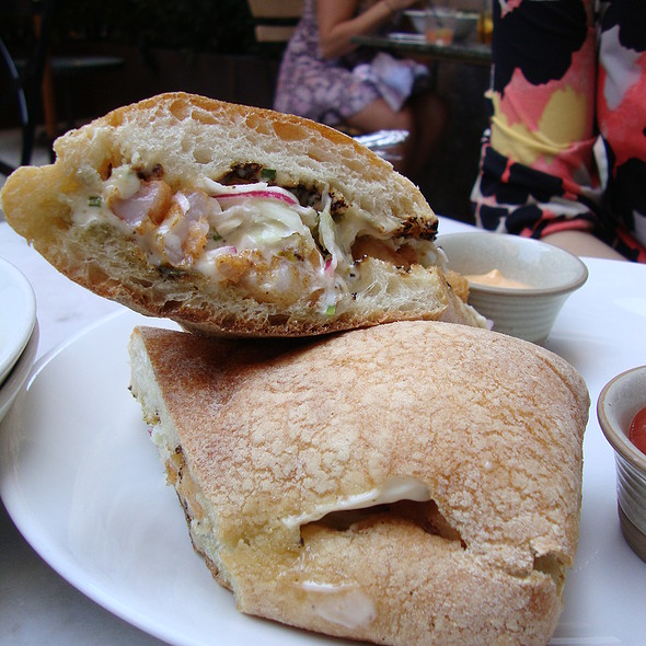 Fried Shrimp Po'Boy with Spicy Remoulade and Coleslaw - Tico, Boston, MA