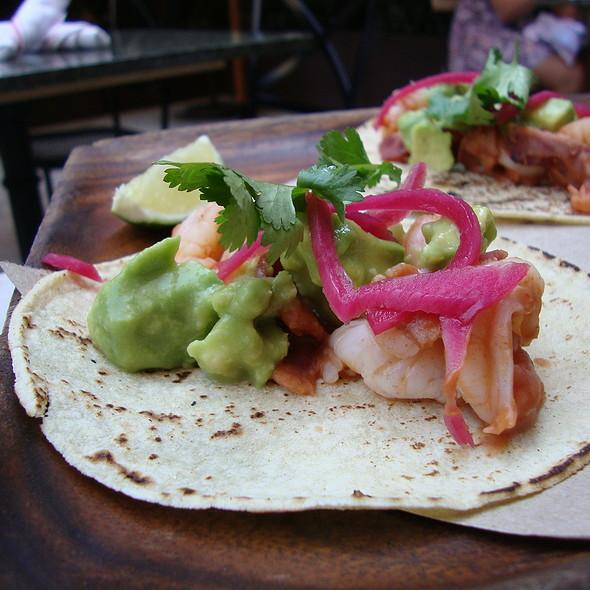 Spicy Shrimp, Bacon, and Avocado Tacos - Tico, Boston, MA