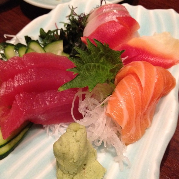 Tuna, Clam, Salmon @ Sushi-Sake Japanese Restaurant