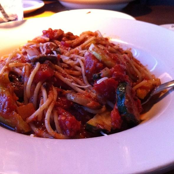 Vegetable Pasta Primavera - Grazie Italiano, Bloomington, IN