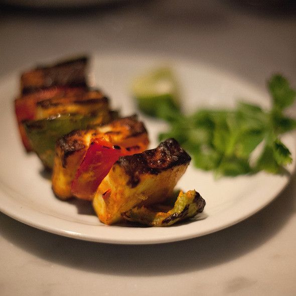 Paneer tikka @ Dishoom
