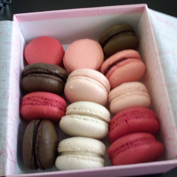 Assorted Macarons @ Bottega Louie Restaurant and Gourmet Market