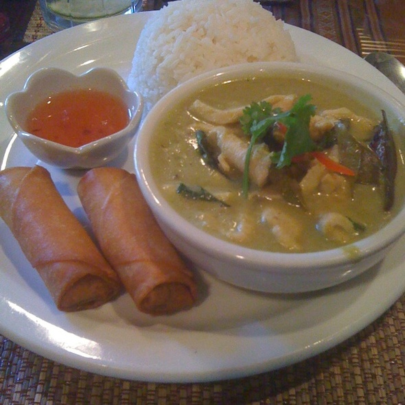 Green Chicken Curry @ Thai Spice