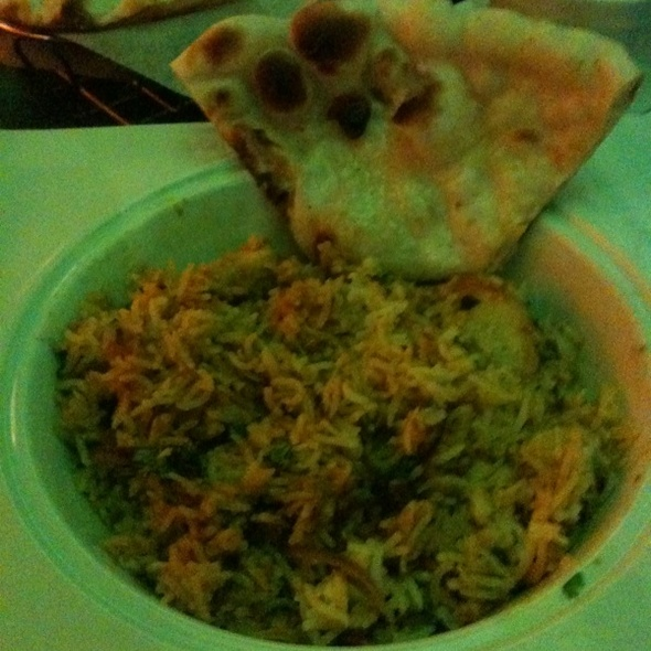 Chicken Biryani With Cucumber Yogart And Garlic Naan - Lehja, Richmond, VA