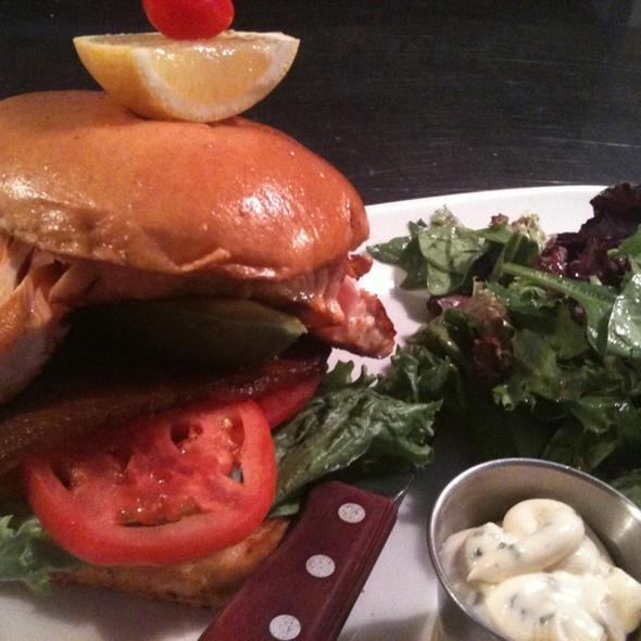 Salmon BLT Sandwich @ Classic Diner The