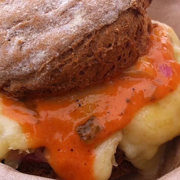 Gluten Free Reuben Sandwich @ Kwik Way