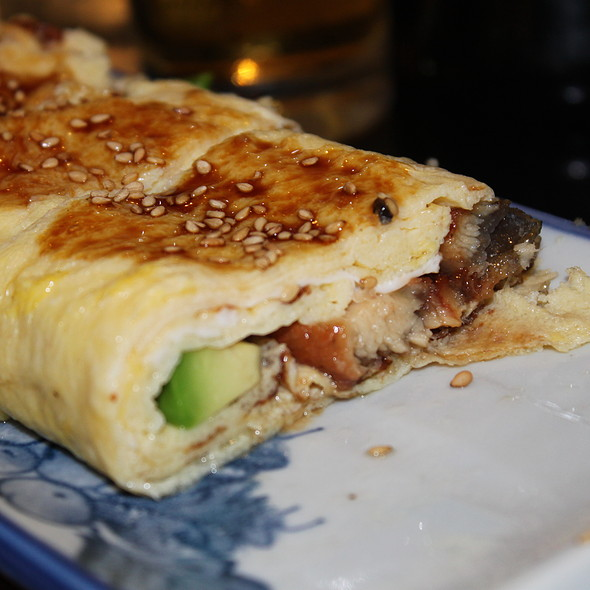 Avacado and Unagi omelette @ Sushi Masa