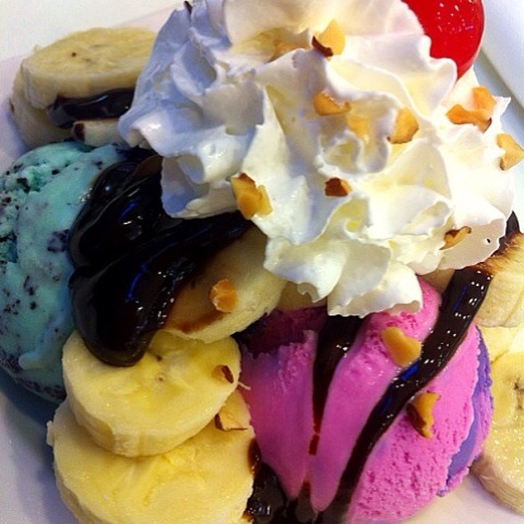 Banana Royale Sundae @ Baskin Robbins - The Mall Ramkhamhaeng
