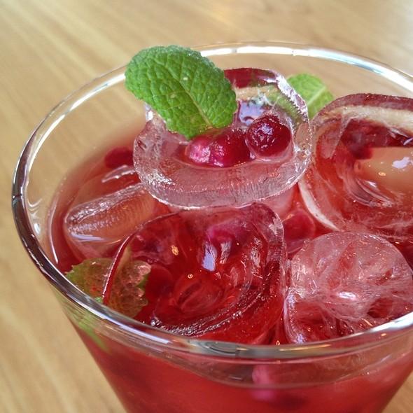 Pomegranate Iced Vinegar @ Castella Bonbon