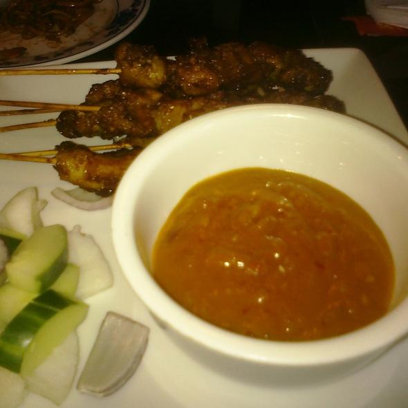 Chicken satay @ Jaya Malaysian Restaurant