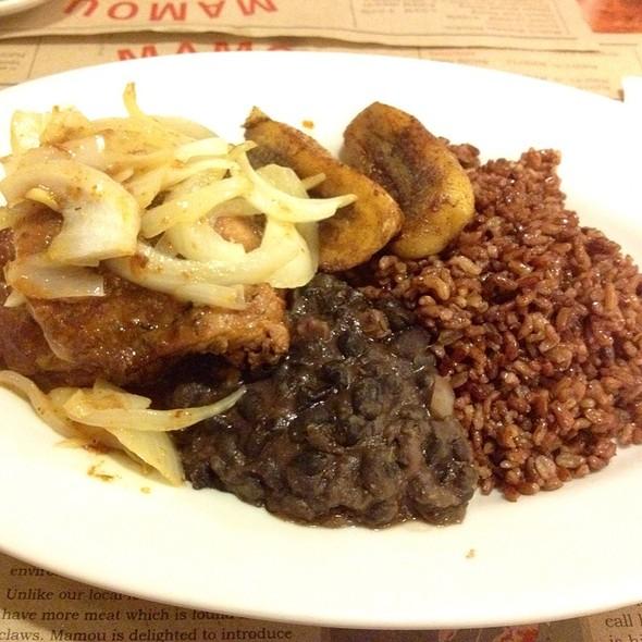 Roast Pork And Chicken @ Mamou