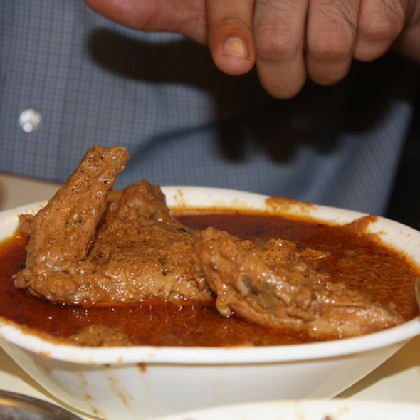 Chicken Jahangiri @ Karim's