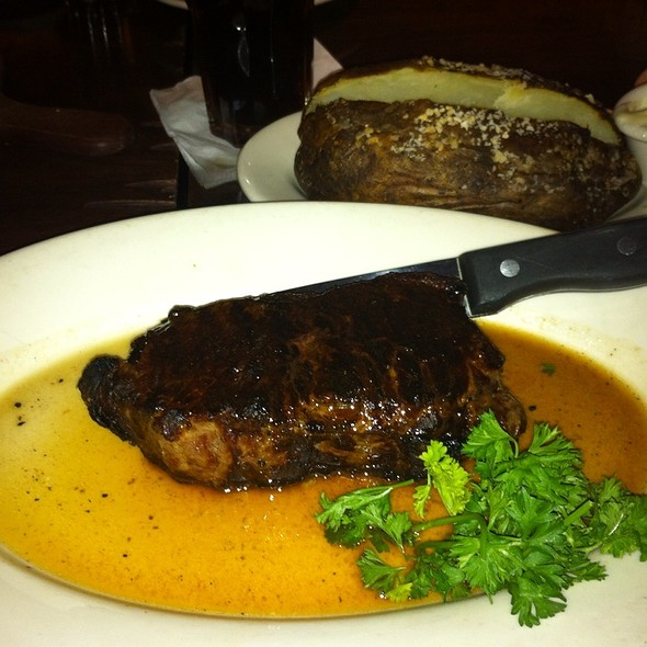 Ribeye Steak & Baked Potato - The Capital Grille - Tysons Corner, McLean, VA