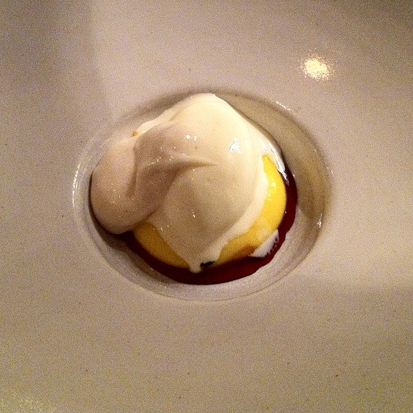 Beerfoam, Icecream Of Yeast And Egg Yolk @ Frantzén/Lindeberg