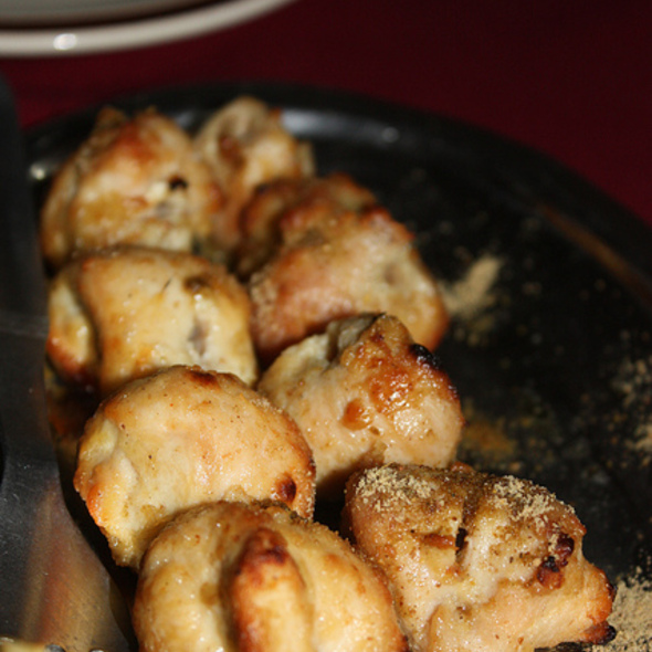 Reshmi Chicken Kabab @ Moti Mahal Restaurant