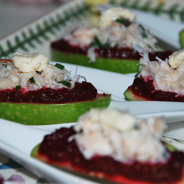 Crab Amuse Bouche @ Krauted Haus
