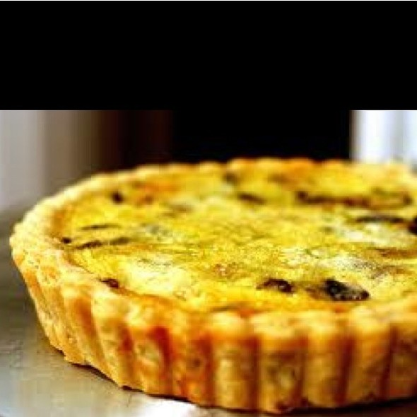 Quiche Lorraine @ Perfect Cafe