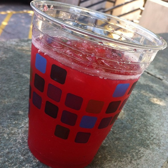 Blackberry Basil Lemonade @ Holy Crepe