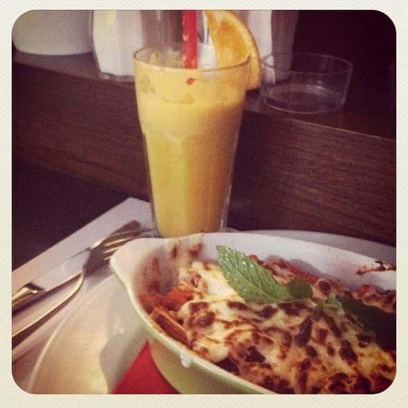 lasagna @ Kirpi Cafe Restaurant
