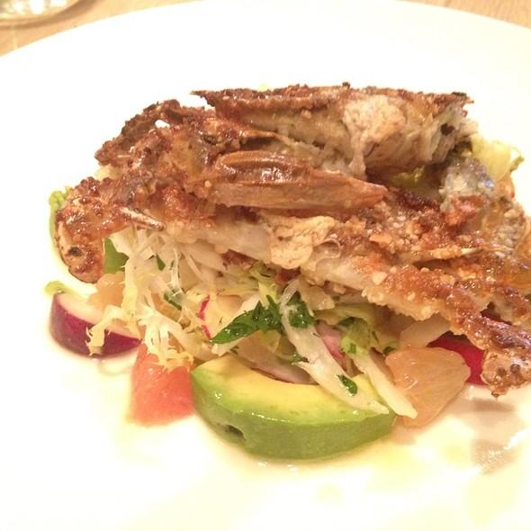 Soft Shelled Crab Salad W/ Avocado & Grapefruit @ Rouge Tomate