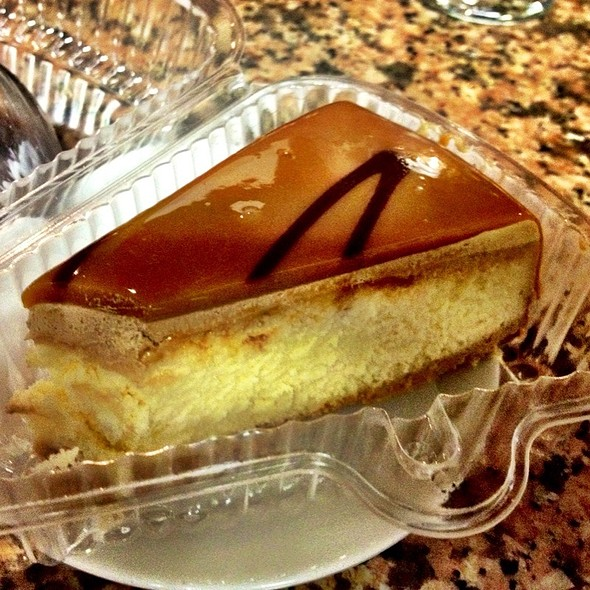Caramel & Coffee Cheesecake @ Hotel Venecia