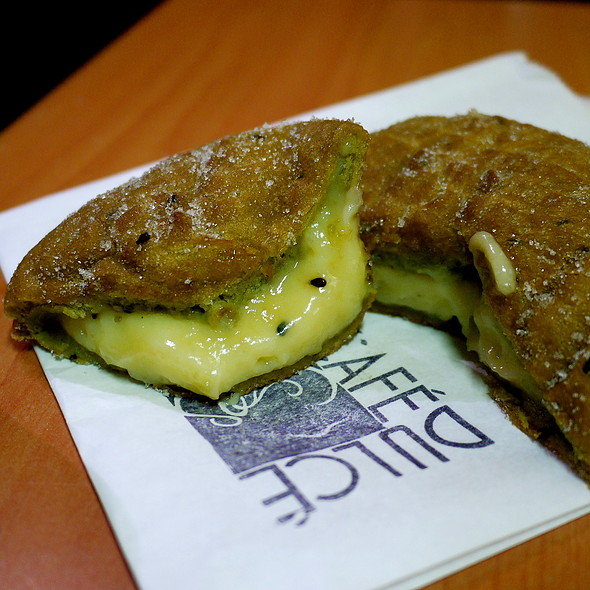 Green Tea Donut @ Cafe Dulce