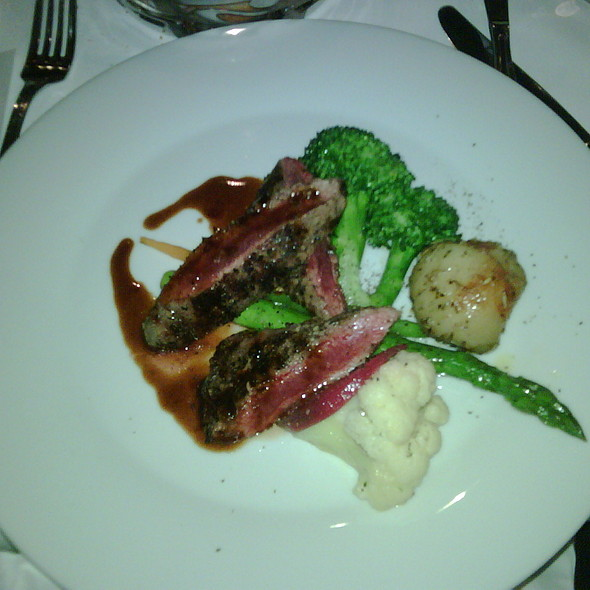 Grilled Lamb Tenderloin - Il Posto - Toronto, Toronto, ON
