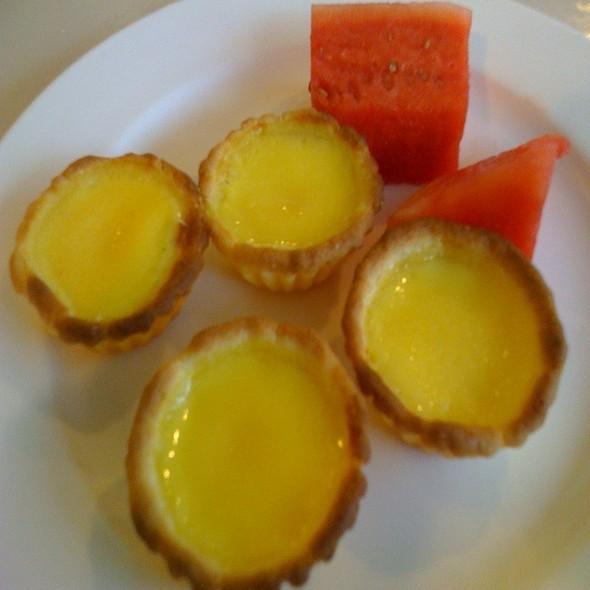 Egg Custard Tart @ Buffet Fortuna