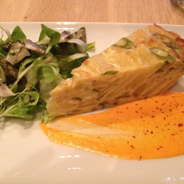 "Spanish Omelette ""Tortilla Espanola"" @ Rouge Tomate"