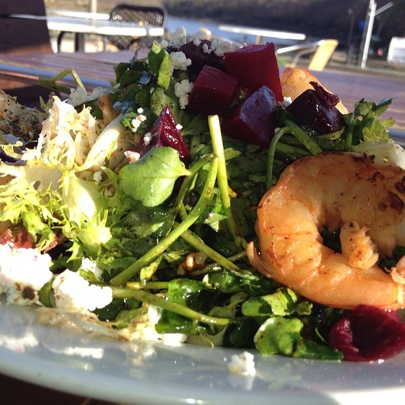 Frisee Salad w/ Beets @ 88 Wharf Riverfront Grill