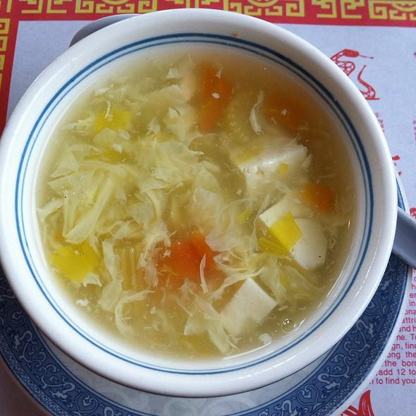 Egg Drop Soup @ Sunny Garden Restaurant