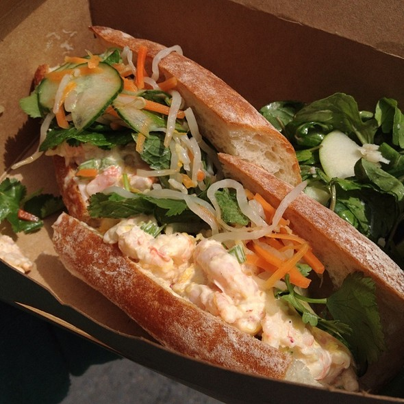 Shrimp Banh Mi @ Darwin Cafe