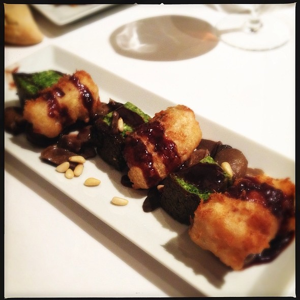 Bacalau Croquetas Con Pastel Des Verdura @ Nina Restaurant