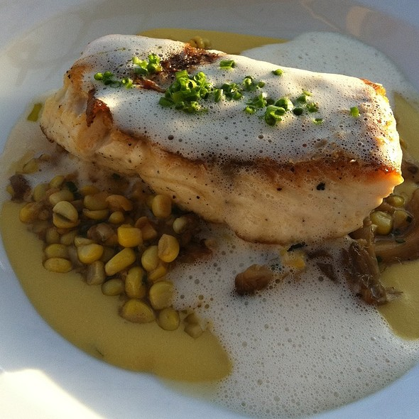 Red Snapper Wirh Corn Pudding - Fish out of Water, Santa Rosa Beach, FL