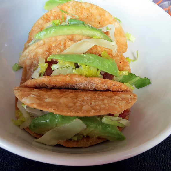 Ahi Tuna Tartare Tacos @ Sheraton Columbus Hotel at Capitol Square