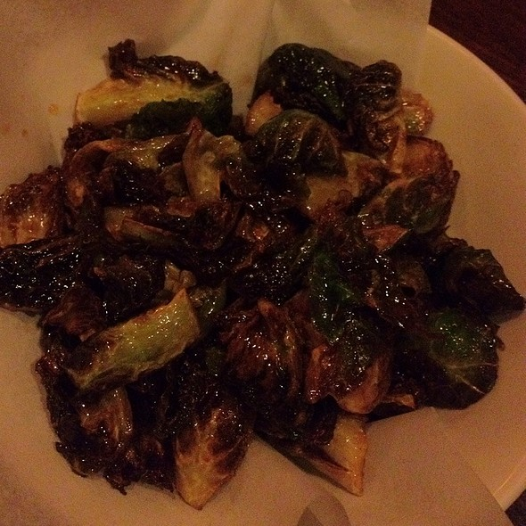 Brussel sprouts @ Uchiko
