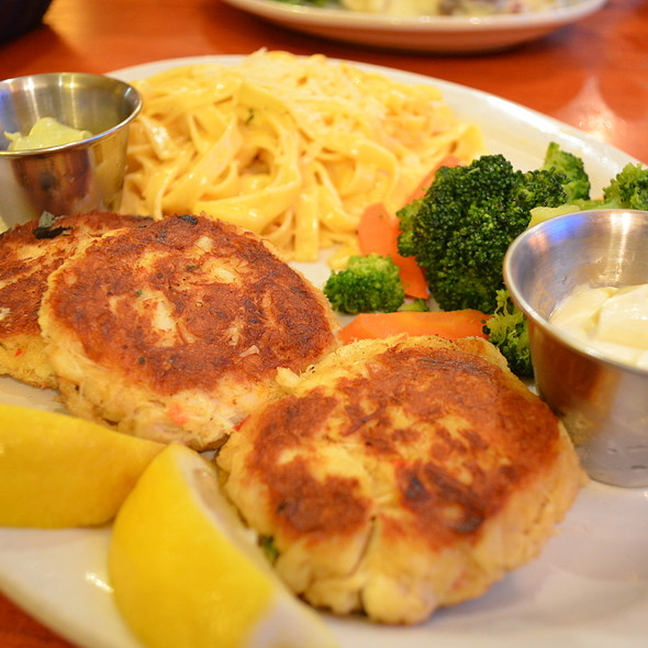 Jumbo Lump Crab Cakes @ Tahoe Joe's Famous Steakhouse