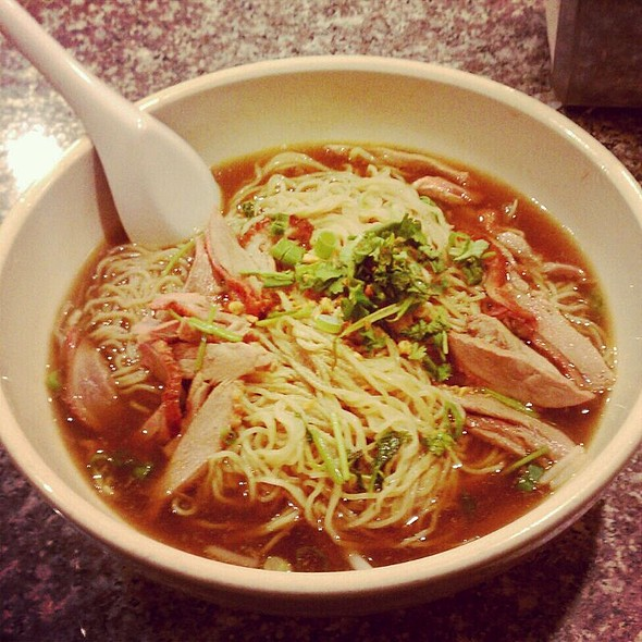roast duck noodle soup @ Thai Style Noodle House