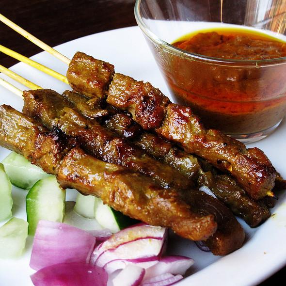 Beef Satay @ Nyonya