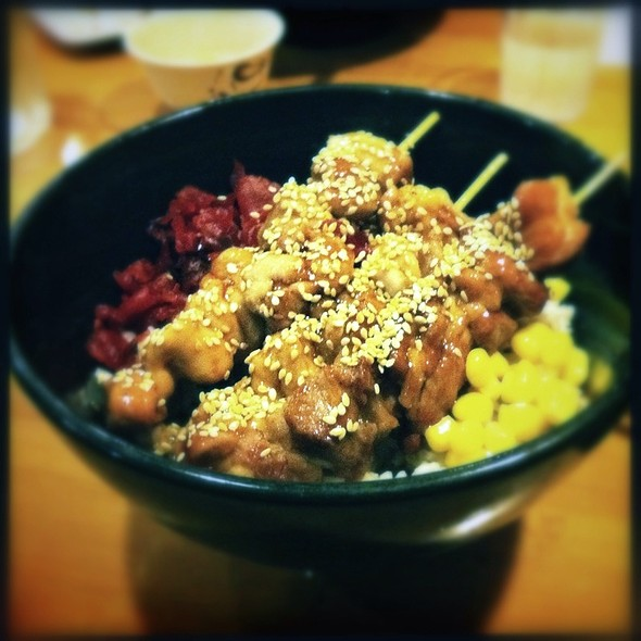 Chicken Teriyaki Don @ Masaka Japanese Dining