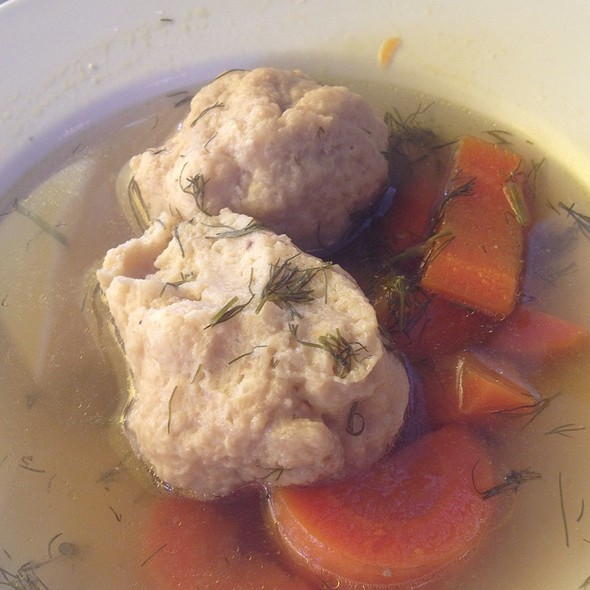 Matzo Ball soup @ By The Way Cafe