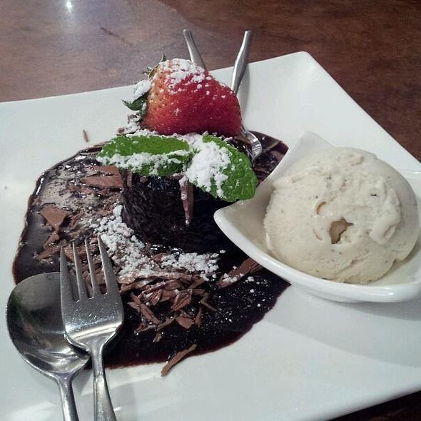 Chocolate pudding @ Maid Of Auckland