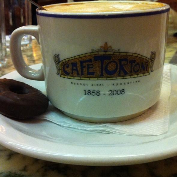 Cafe au lait @ Café Tortoni