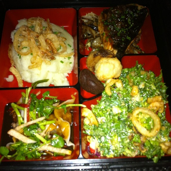 bento box - China Grill - New York, New York, NY