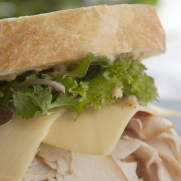 Smoked Turkey Sandwich with Arugula @ Wisma at Chicago French Market